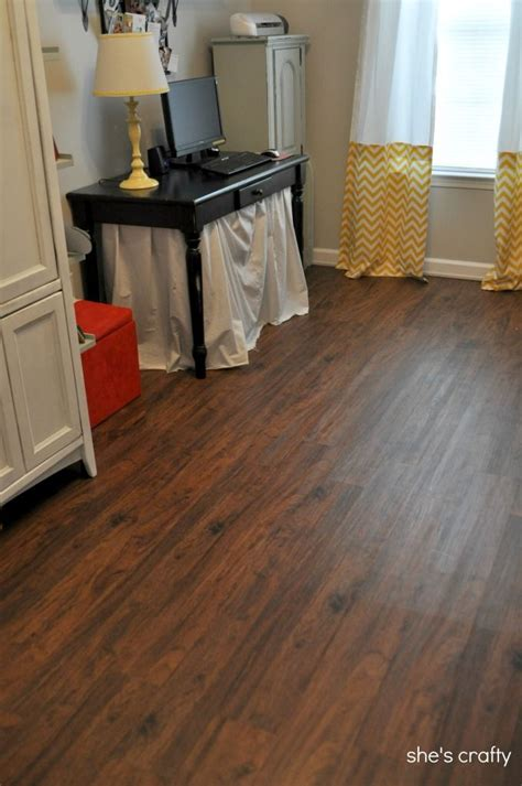 lowes cherry flooring shes crafty vinyl plank flooring