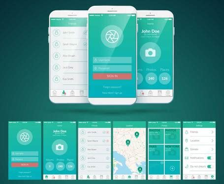 design android app gui screens  unlimited revisions