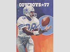 1977 Dallas Cowboys media , Drew Pearson cover #Dallas #