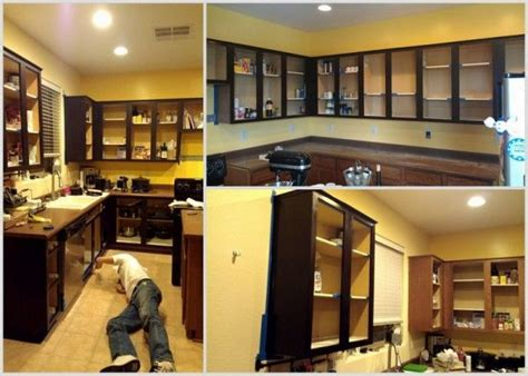 finishing kitchen cabinets ideas the 25 best refinish kitchen cabinets ideas on 7200