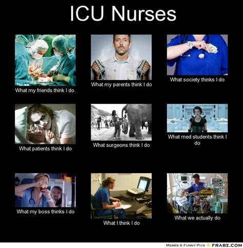 Icu Nurse Meme - icu nurses icu nurse pinterest