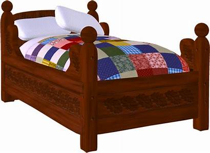 Bed Clipart Clip Christmas Iron Cozy Categories