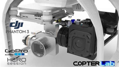 gopro phantom gimbal  axis gopro hero  session micro camera gimbal  dji phantom  advanced
