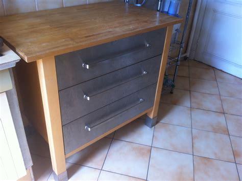meuble de cuisine en inox meuble cuisine 80 reservee je vide ma maison