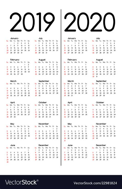 calendars royalty vector image