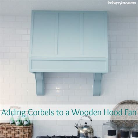 Pump Up the Kitchen Drama: How to Add Corbels to a Wooden