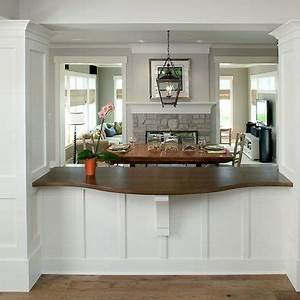 the shape pictures and bar on pinterest With kitchen dining room pass through