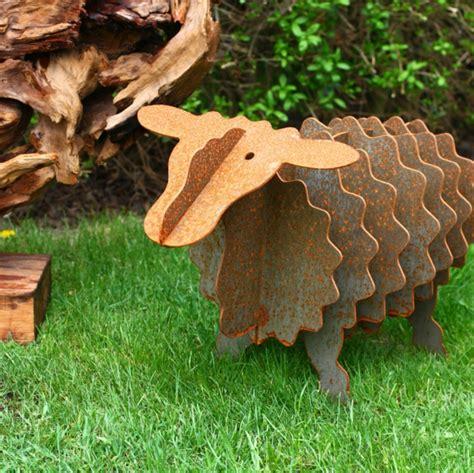 Gartendeko Rost Und Holz by Gartendeko Aus Rost Coole Beispiele Archzine Net
