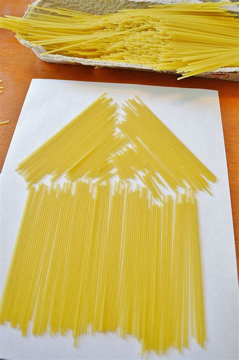 pot sized pasta kid craft ideas fine motor sensory