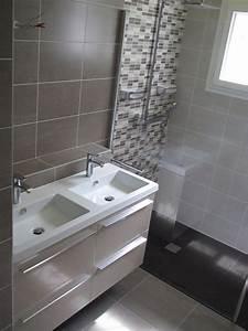Salle De Bain à L Italienne : salle de bain contemporaine douche l 39 italienne ~ Dailycaller-alerts.com Idées de Décoration
