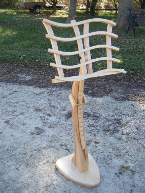 swan  stand  solid maple   home