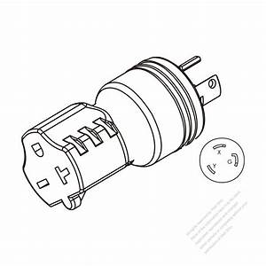Adapter Plug  Nema L6