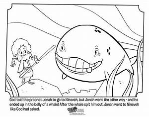 Jonah And The Whale Bible Coloring Pages Whatu002639s In The