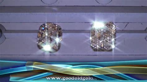 Chunky Cushion Diamond vs Radiant Cut Diamond - YouTube