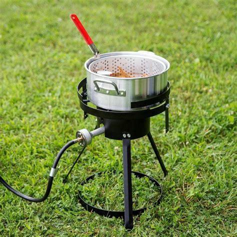 fish fryer outdoor deep pot cooker aluminum qt kit propane patio lp recommendation