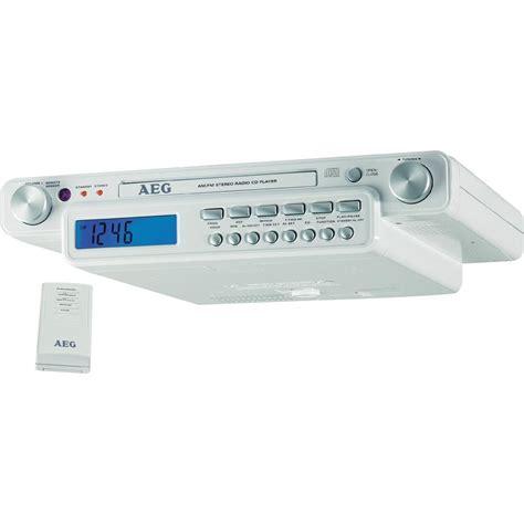Aeg Krc 4323 Under Cabinet Kitchen Radio White From
