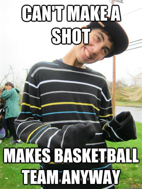Tall People Memes - can t make a shot makes basketball team anyway tall people get it all quickmeme