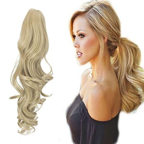 extensions hair ponytail extensiones fut inches extension aumentar melena volumen mejores tu claw clip womens