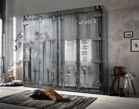 Vintage Industrie Möbel kleiderschrank container vintage industrie design loft