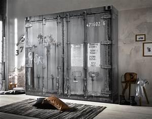 Vintage Möbel Günstig : kleiderschrank container vintage industrie design loft m bel 4 t rig 240cm ebay ~ Pilothousefishingboats.com Haus und Dekorationen