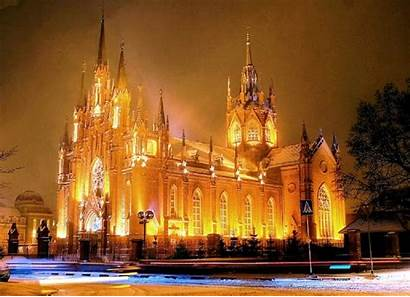 Christmas Wallpapers Catholic Cathedral Religious Pagan Church