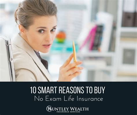 Don't forgo life insurance due to the medical exam. No Exam Life Insurance - There are Reasons to Buy It. I'm Sharing 10!