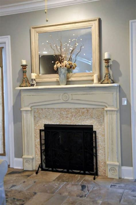 choosing  fireplace mantel   house wearefound