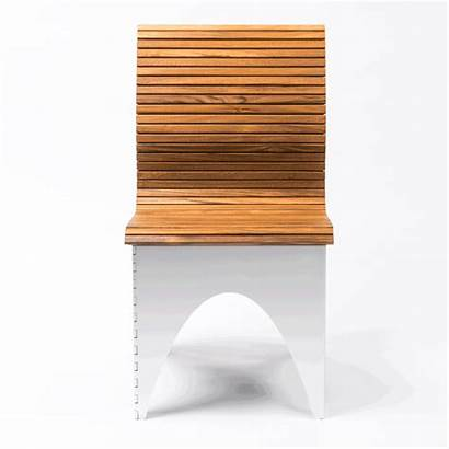 Chair Ollie Folding Tambour Articulated Thick