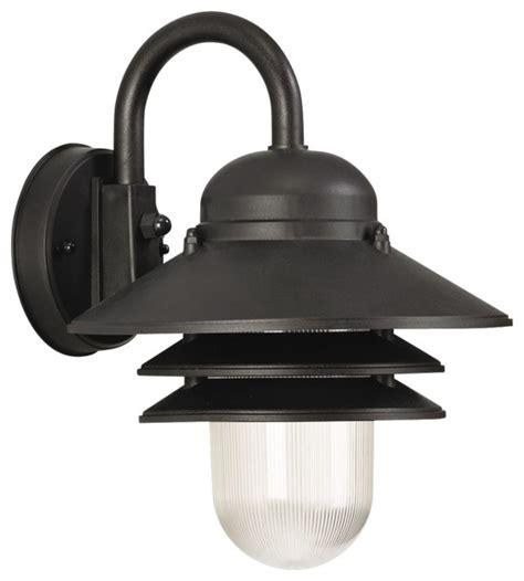 marlex nautical 13 quot high black outdoor wall light