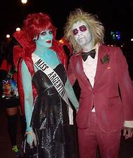beetlejuice couples halloween costumes
