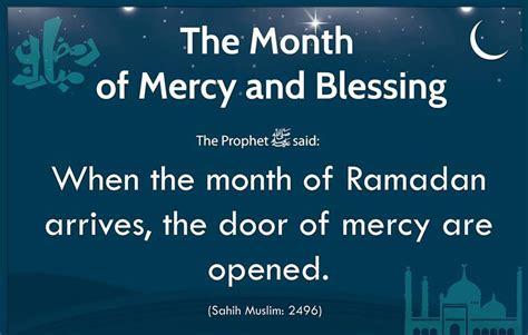 beautiful hadith  coming holy month  ramadn