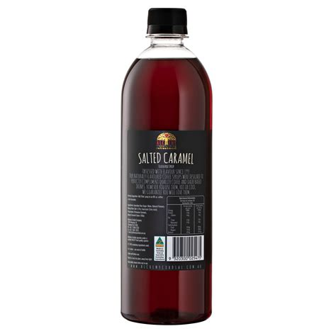 1 cup (8oz) brewed coffee, chilled. Salted Caramel 750ml - Coffee Syrup Range