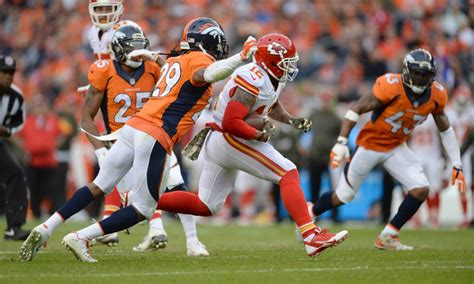 kansas city chiefs  denver broncos preview  score