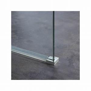 Paroi Douche Verre Sablé : paroi pour douche fixe en verre parois pour douche ~ Premium-room.com Idées de Décoration
