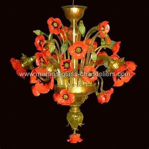Kronleuchter 5 Flammig : papaveri murano kronleuchter 5 flammig murano glass chandeliers ~ Whattoseeinmadrid.com Haus und Dekorationen