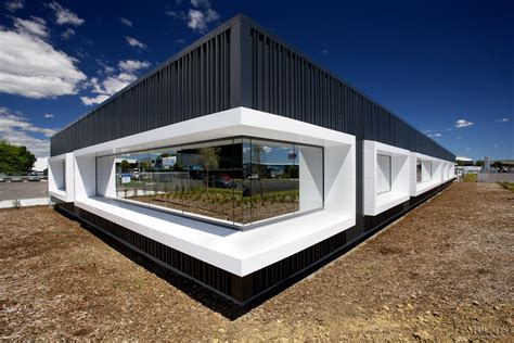 In the frame ? Alucobond feature window frames by Kaneba