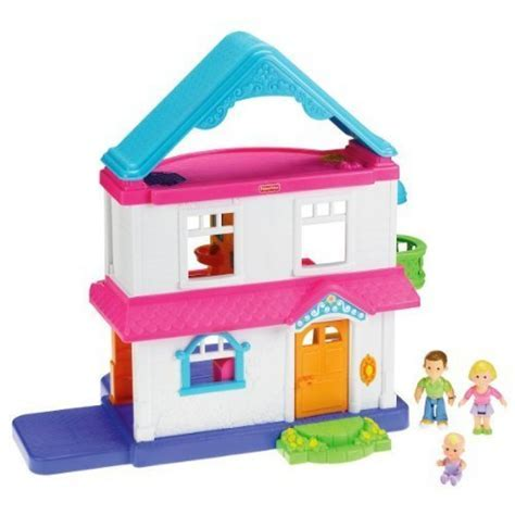 Fisher Price My First Dollhouse (Caucasian Family