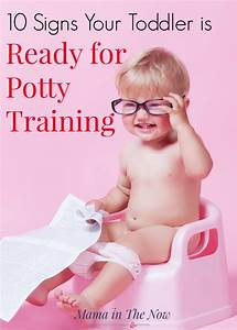 10 Signs Your Toddler is Ready for Potty Training