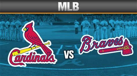 mlb betting lines atlanta braves  st louis cardinals odds
