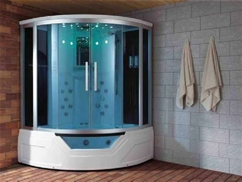 Air Jet Tub Shower Combo by Eagle Bath Steam Shower W Whirlpool Bathtub Combo Quot 59 Quot Ws