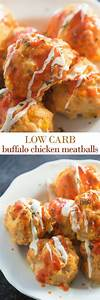 Low Carb Restaurant Hamburg : buffalo chicken meatballs these low carb meatballs are bursting with flavor from buffalo sauce ~ Eleganceandgraceweddings.com Haus und Dekorationen