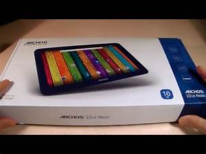 ARCHOS 101 neon Video clips