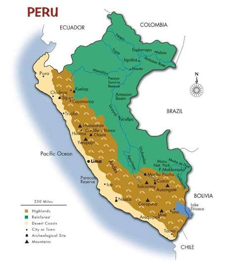 map  peru southwind adventures