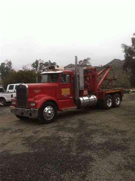 truck wreckers kenworth kenworth 1964 wreckers
