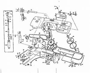 Craftsman Model 1012290 Band Saw Genuine Parts