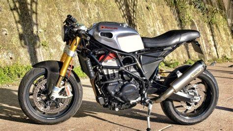 Husqvarna Goes Ducati, Cafe-racer Goes Roadster
