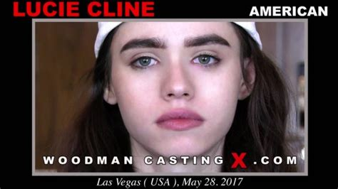 Lucie Cline On Woodman Casting X Official Website