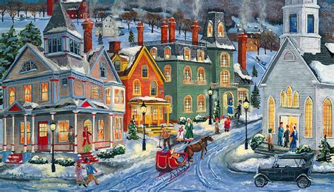 beautiful christmas villages weneedfun