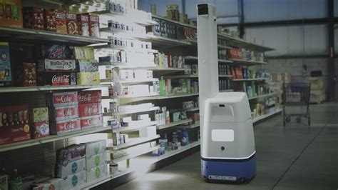 bossa novas robots track inventory  walmart stores
