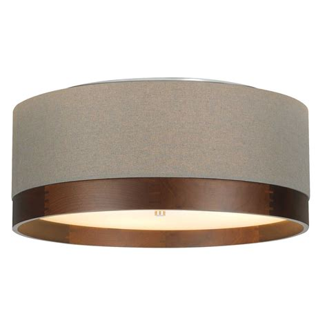 flush mount ceiling light sea blue pattern 12 inch semi